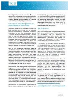 ver.di-Info DT GKV / DT BS - Gute Arbeit im Homeoffice – gemeinsam gestalten, kollektiv absichern - Seite 2 von 2