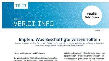 ver.di-Info Corona-Impfung und Arbeitsrecht - Teaser