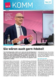 KOMM 3 / 2021 - Titelblatt