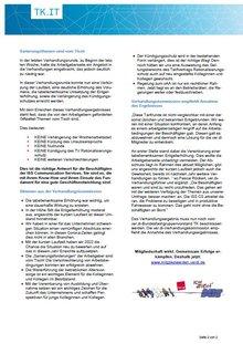 Tarifinfo ISS CS: Tarifeinigung erzielt - Sanierungsthemen vom Tisch - Seite 2 von 2