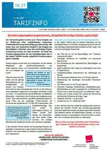 Tarifinfo 8 TR TSI 2021